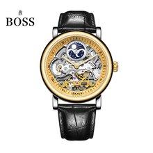 БОСС Германии часы мужчины luxury brand скелет moon phase автоматические механические часы Эрл Граф Граф серии relógio masculino