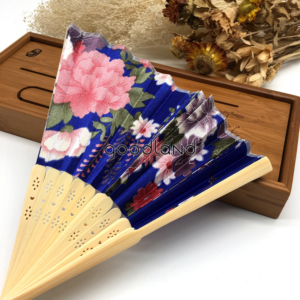 FLASH SALE] Wholesale Free Shipping 50pcs Folding Hand Fan