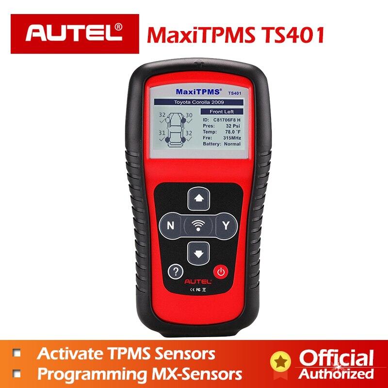 Autel TS401 TPMS Diagnostic Tool Copy ID 315mhz 433mhz Sensor Activation Programming Mx Sensor MaxiTPMS Tyre Pressure Tester