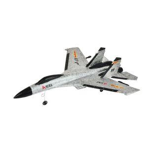 Image 1 - RC طائرة A100 J11 EPP 340 مللي متر الجناح 2.4 جرام 3CH الثابتة الجناح الطائرات في الهواء الطلق لعب الأطفال هدية