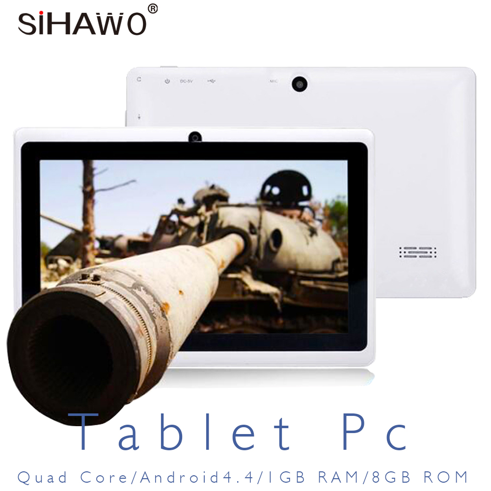 Tablet PC for Children 7 inch Allwinner Quad Core 7021 CPU Tablet Android 4.4 Wifi WIFI 800*480P IPS OTG 1G+8G Bluetooth 3000mAh|Tablets|Computer & Office - title=