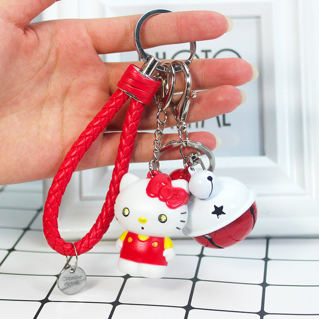 37a62f3ec Cute Creative Hello Kitty Keychain Say