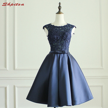 shpitsa Sexy Navy Blue Cocktail Dresses for Party Dress. US  99.00   piece Free  Shipping ef96e9c7ca88
