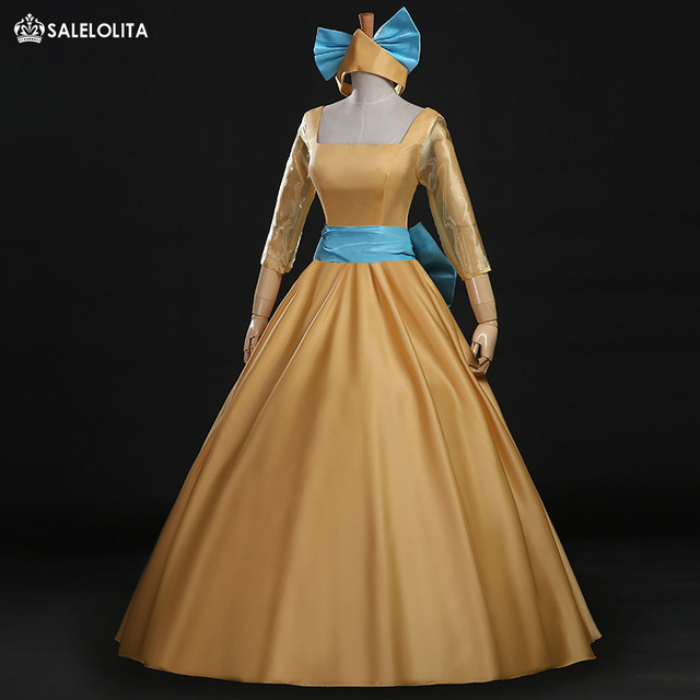Movie Gowns Cinderella Cosplay Dress Anastasia Cosplay Dress ...