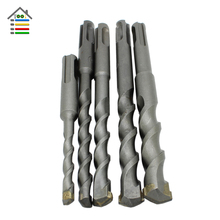 5pc Tradesman Square Shank SDS Plus Rotary Hammer Concrete Masonary Drill Bit Round Shank DIY Electric Wall Hole Saw Drilling