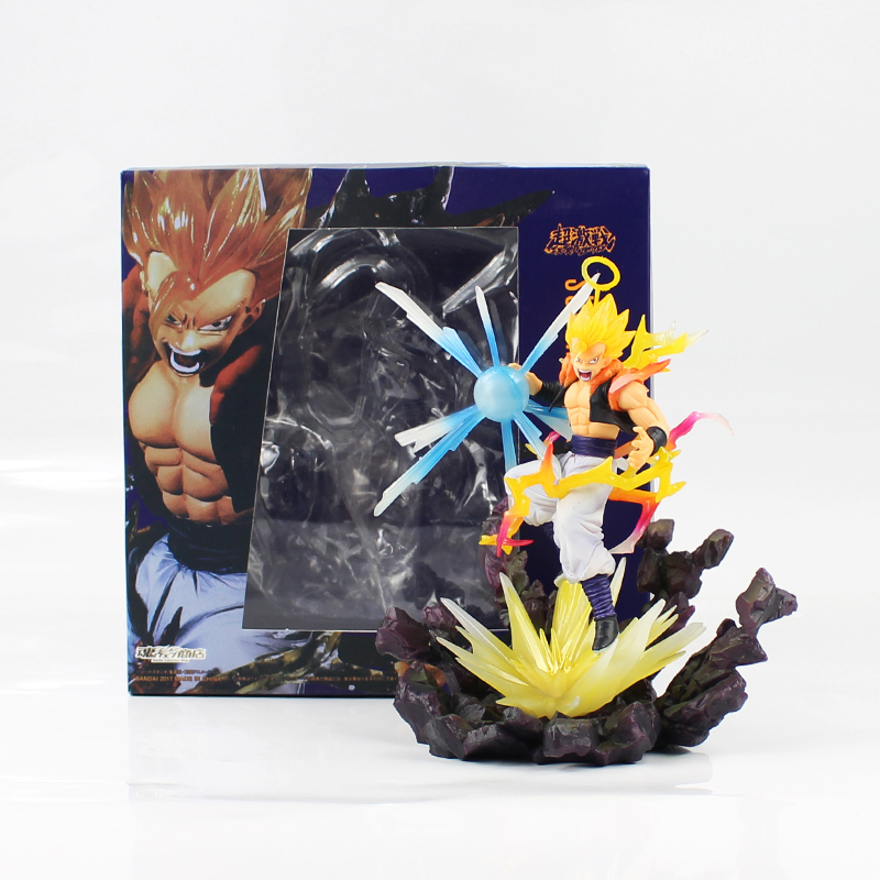 16cm Dragon Ball Z Vegetto Super Saiyan Gogeta PVC Action Figure Model Toy fighting ver. Vegeta and Kakarotto Son Goku model toy qiumei winter women fur bomber hats real raccoon fur brown wine trapper hats caps pompom male russian bomber hat genuine fur