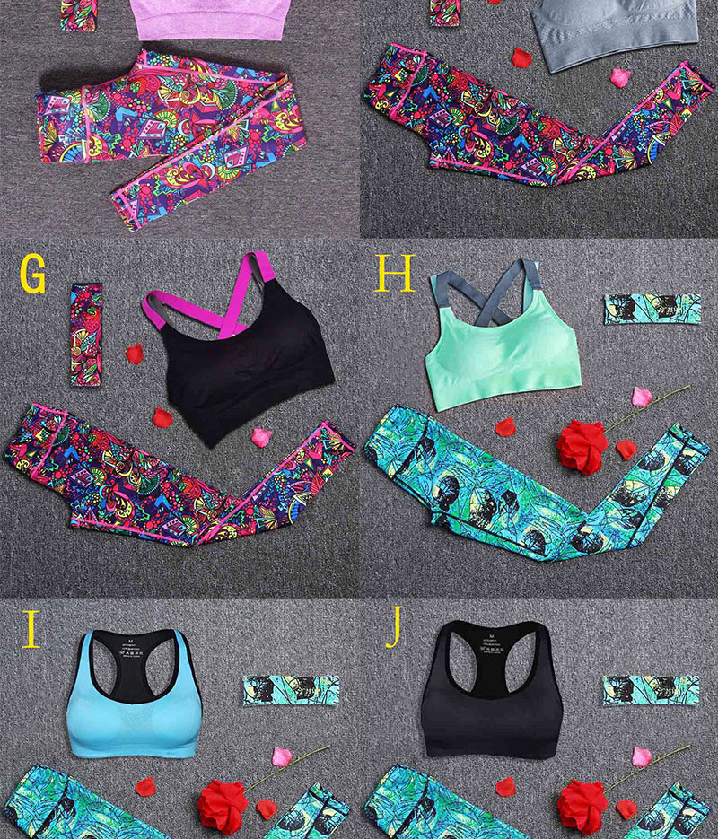 Women Yoga Fitness Sports Sets (2)