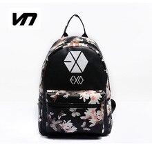 2016 Été Coréen Nouvelle Mode Papillon Fleur Sacs À Dos Pour Adolescent EXO Bigbang GD MADE TOP BTS À Dos Pour School Girl sac