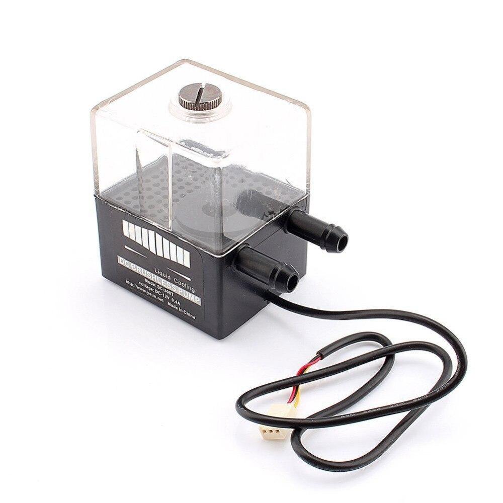 все цены на Centechia New Sc-300t 12v dc ultra-silent water pump & pump tank for pc cpu liquid cooling computer system онлайн