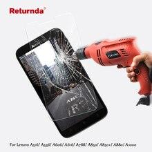 Returnda anti-explosion lenovo tempered film protector glass screen for