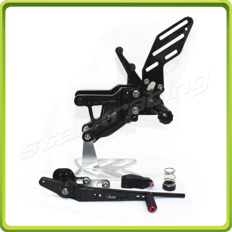 RACING USE ADJUSTABLE REARSETS fit for BMW S1000 RR 2009 2010 2011 2012 2013 2014 S1000RR