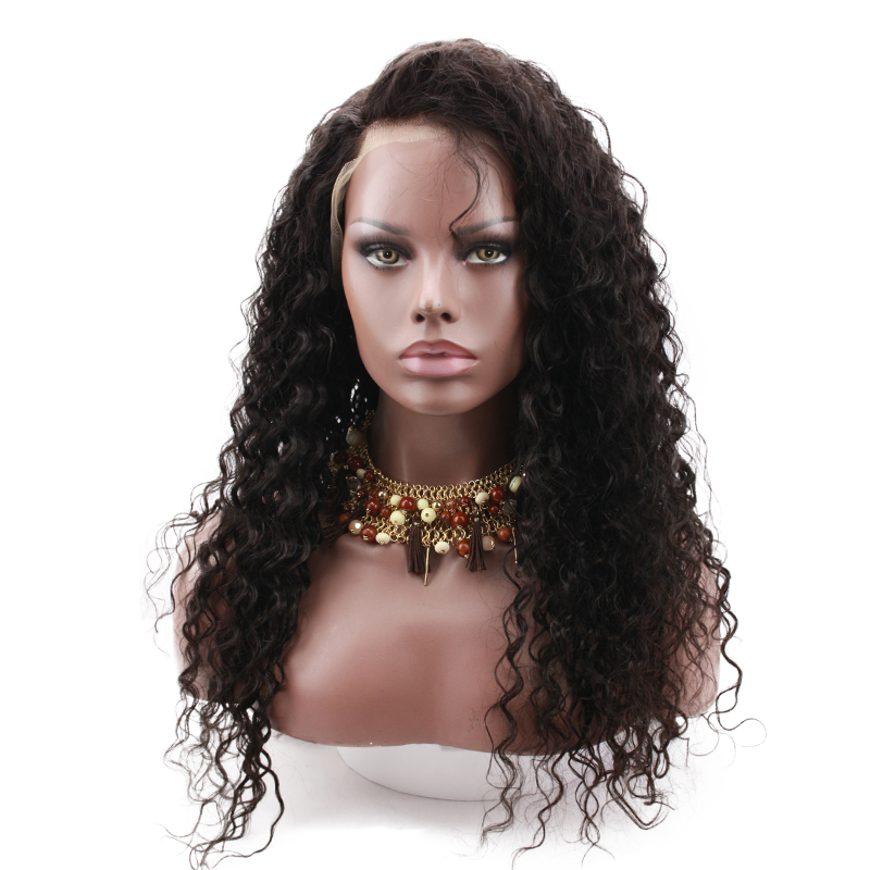 Lace Front Wigs Curly Hair Human 250 Density Peruvian Remy Hair Glueless Lace Wigs For Black Women Side Part Hair Wigs Eseewigs