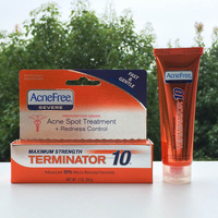Hot!! AcneFree strong acne glue 28 g 10% benzoyl peroxide acne acne removing dark cream Cuo