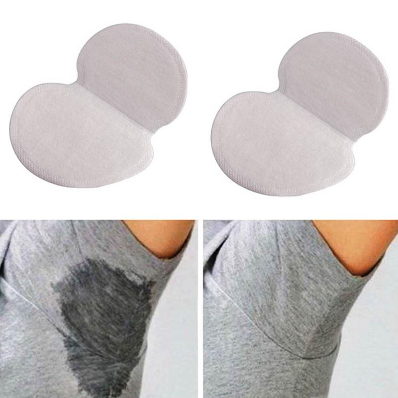 50 Pcs/Set Summer Women Men Armpits Sweat Pad Disposable Deodorants Underarm Anti Perspiration Absorbing Pads TB Sale