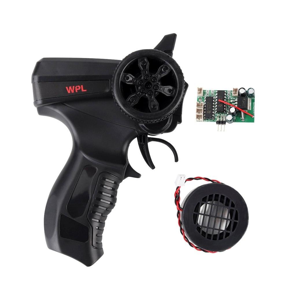 Simulez le jouet à télécommande/récepteur de tableau de bord/haut-parleur pour WPL B-14 B16 B-36