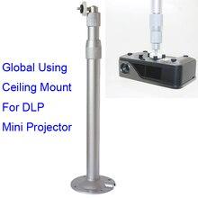 2016 meilleur alliage d'aluminium 30 à 60 CM mur support plafond support de suspension pour Mini DLP LCD LED vidéo projecteur