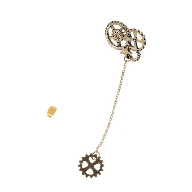 Doreenbeads New Vintage Style Drop Earrings Steampunk Gear Women Men Jewelry Fashion Ear About