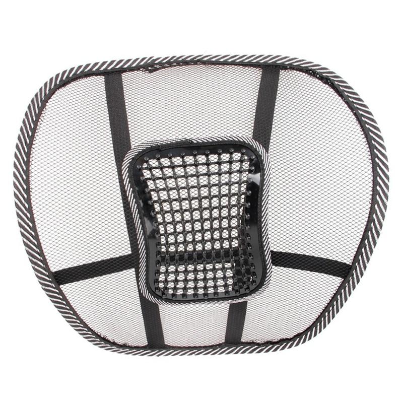 Орындық массажі Back Cushion Pad қара артқы - Автокөліктің ішкі керек-жарақтары - фото 2