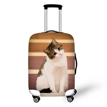 Pet cat pattern Elastic Luggage Protective Cover Zipper Suit For 18-30 inch Trunk Case Travel Suitcase Covers Bags hmunii case cover thick elastic luggage protective cover zipper suit for 18 30 inch trunk case travel suitcase covers bags a1 14