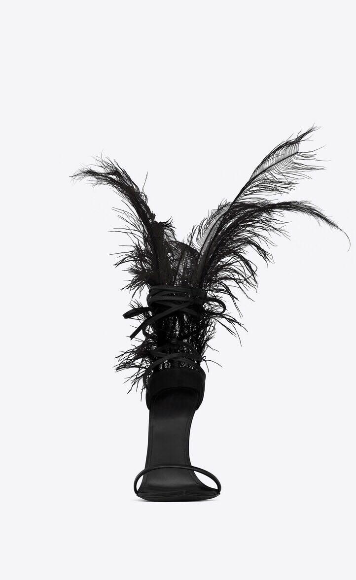 Noir Dames Sandales Feminina as Chaussures Talons As Plume Pic Pompes Mode Haute Dernière Gladiateur Sandalia Pour Femmes Blanc Sexy Pic ARxn1