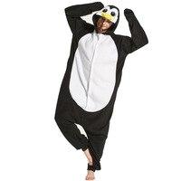 Animal Onesie Kigurumi Costume Pajama Women Men Adult Sleep Overalls Unicorn Bear Carnival Party Suit Flannel