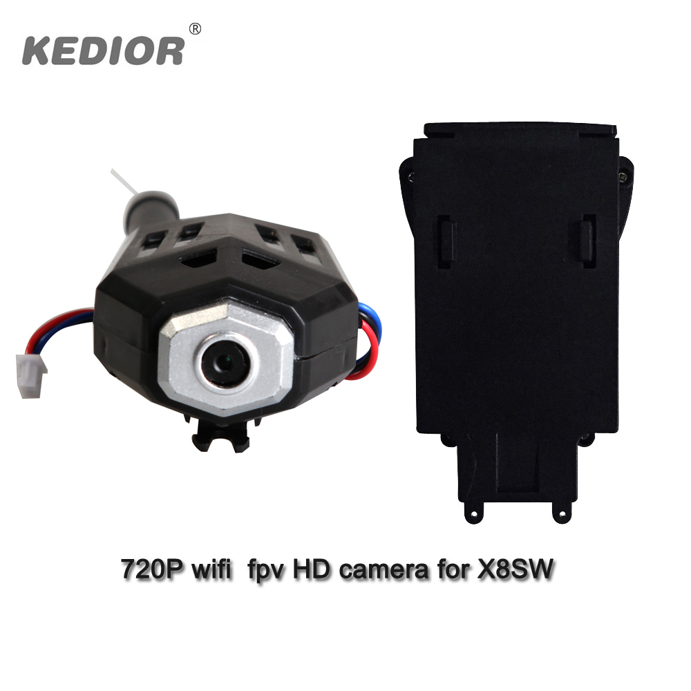 ФОТО KEDRIOR X8SW drone parts 720P 1.0mp WIFI FPV HD CAMERA remote control helicopter quadcopter accessories for sale