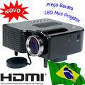 Digital HDMI Mini Projector USB SD VGA Audio Projetor Portable Beamer Kids Image Proyector Portuguese Global Shipping