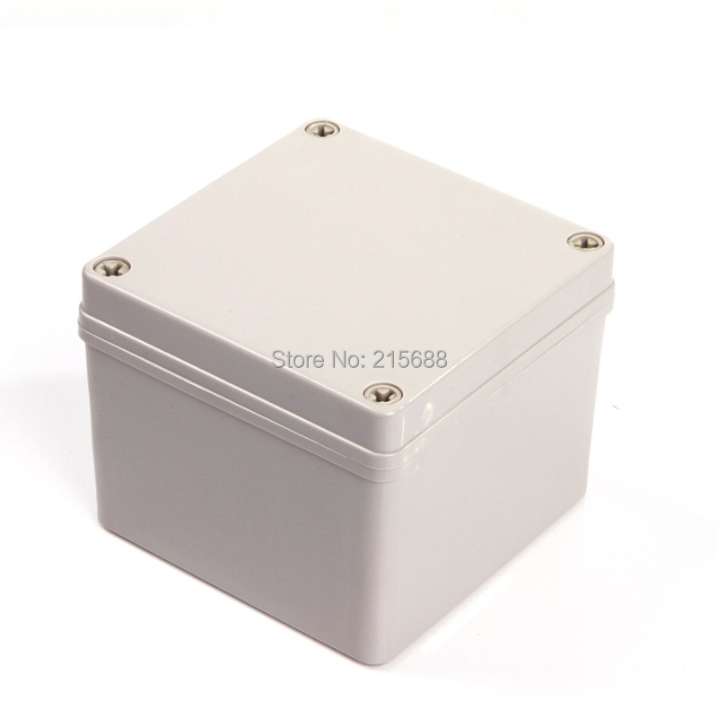 Saip ABS injection enclosure weatherproof enclosure for electronics 125 125 100MM DS AG 1212