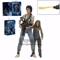 ToysPark Aliens 30th Anniversary Ripley Rescuing Newt 7 Action Figure Deluxe 2 Pack Movie Classic Collectible 2016 NECA Alien