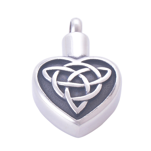 Heart Shaped Cremation Jewelry