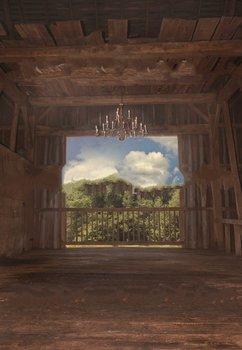 מפואר חתונה אסם נברשת גדר עץ צילום רקעים מחשב הדפסת ילדי ילדים רקע
