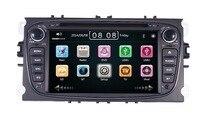 2 din Сенсорный экран dvd плеер gps Navi для Ford Focus Mondeo Galaxy C max с аудио стерео радио головы блок Бесплатная Can bus