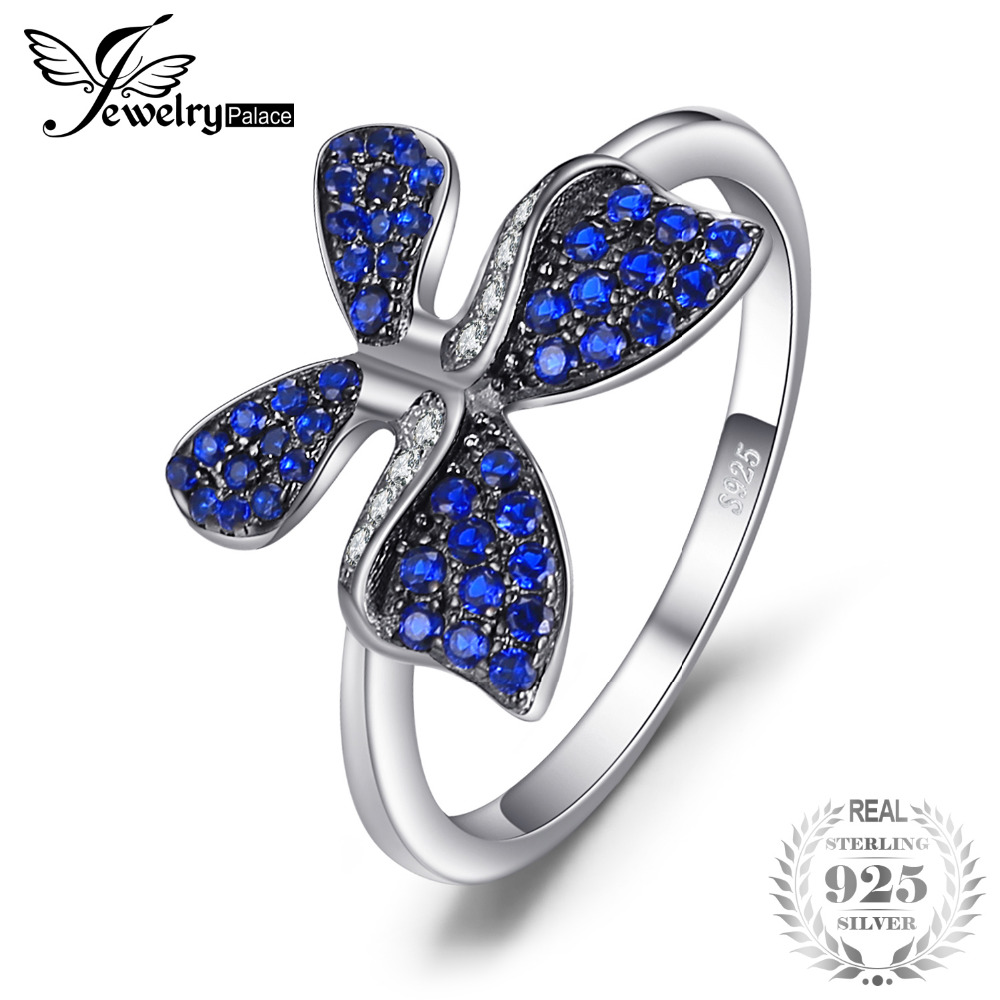 Jewelrypalace Butterfly 0 3ct Created Blue Spinel