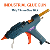 15MM hot melt glue gun 200W 300W 3M industrial hot glue gun professional high power use 15MM glue stick