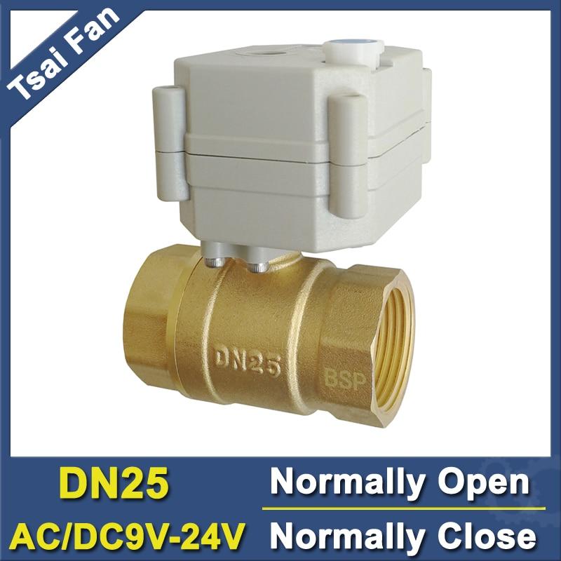 Ce, IP67 качество 2/5 провода Мощность сбой обычно Закрыть/открытым Клапан с ручной донастройкой tf25-b2-b AC/dc9v-24v 2- способ DN25