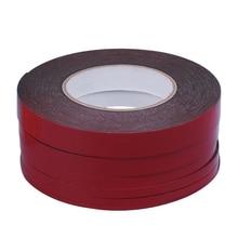 1 комплект 3-20 мм 25 м красный двухсторонний стикеры Липкая лента для мобильного телефона ЖК-экран Высокое качество