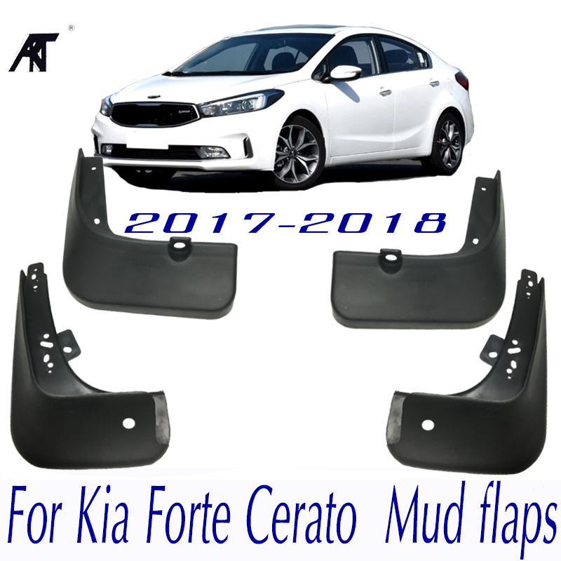 For Kia Forte Cerato K3 2013 2014 Mud Flaps Splash Guard Mudguard Car Fender 4p