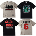 Fear of God T Shirt Men Women Justin Bieber YEEZY Metallica NIRVANA Rock Hip Hop T Shirts Camiseta Masculina Kanye Pablo Top Tee