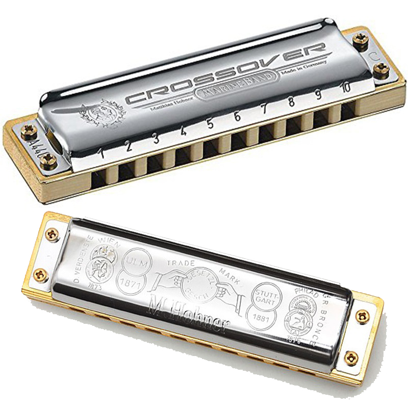 Diatonic 10 Holes Harmonica  20 Tone Mouth Organ Instrumentos Harmonica  Key C Musical Instruments  Hohner Marine Band Crossover easttop brass chromatic harmonica 16 hole brass abs comb musical instruments mouth organ chromatic slide harmonica good sound