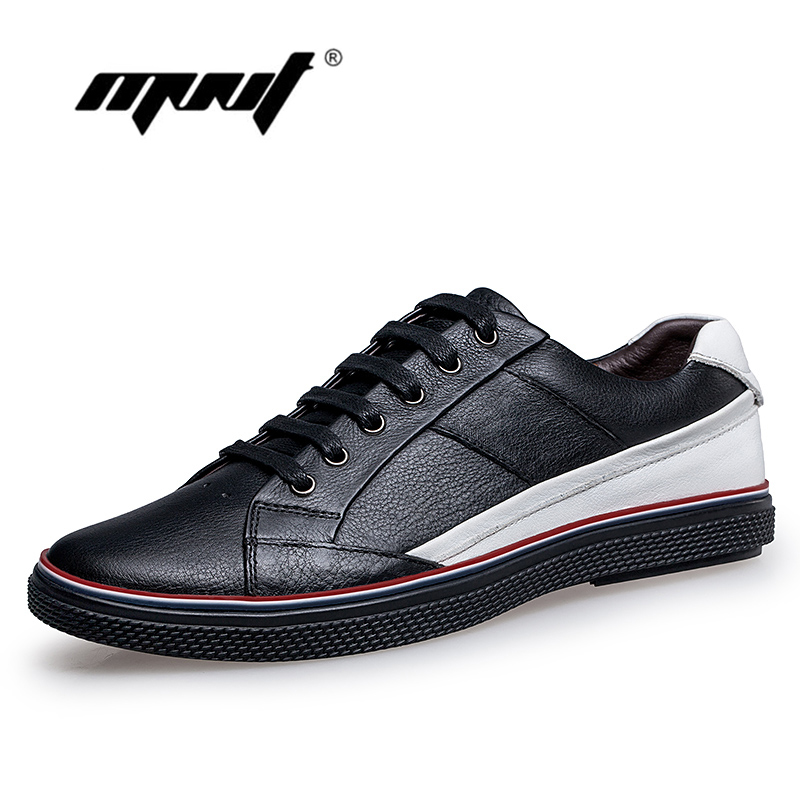 Genuine Leather Men Shoes Comfortable Men Casual Shoes, Outdoor Flats Shoes Plus Size Quality Leather Shoes Men