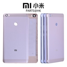 ORIGINAL Metal Rear Housing For XIAOMI Mi Max Back Cover Case Battery Door with Volume Power Button Mimax Gray Silver Gold