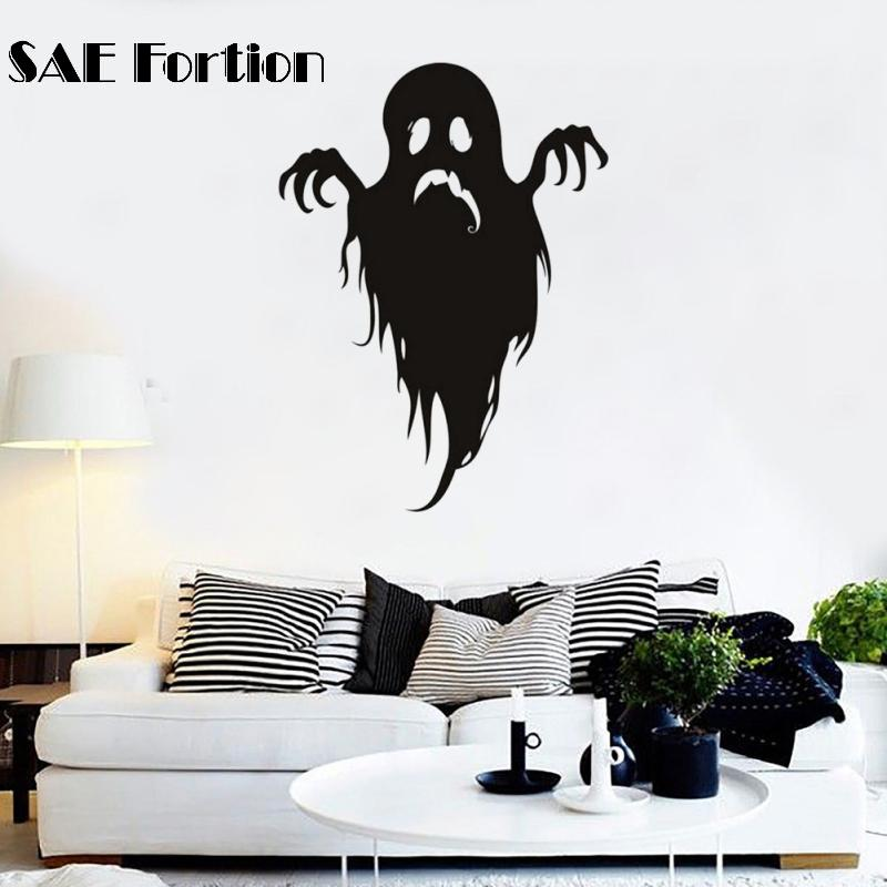Aliexpresscom Buy SAE Fortion Halloween Ghost Elves Wall - Vinyl wall decals home party