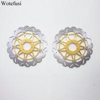 Wotefusi передние тормозные диски для Yamaha FZR YZF 750 FZR 1000 XJR 1200 1300 5EA1/5EA7 1998 1999 [PA190]