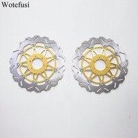 Wotefusi спереди тормозные диски для Yamaha FZR YZF 750 FZR 1000 XJR 1200 1300 5EA1/5EA7 1998 1999 [PA190]