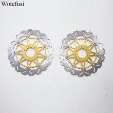 Wotefusi спереди тормозные диски для Yamaha FZR YZF 750 FZR 1000 XJR 1200 1300 5EA1/5EA7 1998- 1999 [PA190]