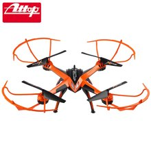 Original RC Drone Dron Toys Attop 2.4G 4CH 6-Axis Gyro RTF MODE2 Remote Control Quadcopter Auto Fly Return Drone Toy Helicopter