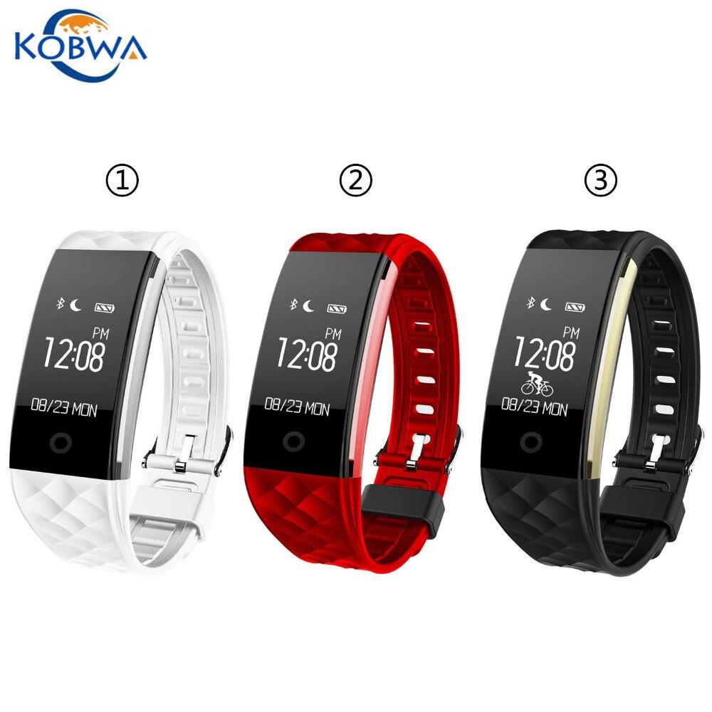 Waterproof Dustproof S2 Intelligent Strap Bluetooth Smart Wristband Heart Rate Monitor Sport Wearable Device For iPhone
