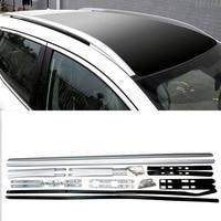 For Nissan Qashqai J11 2014 2019 2016 2017 2018 Aluminum Alloy Accessories Luggage Carrier Bar Roof Rails Rack Bars Exterior