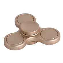 2017 Hot Classic Toys Matte Tri-Spinner Hand Fidget Toy Plastic Hand Spinner For Autism and Rotation Time Long Anti Stress Toys