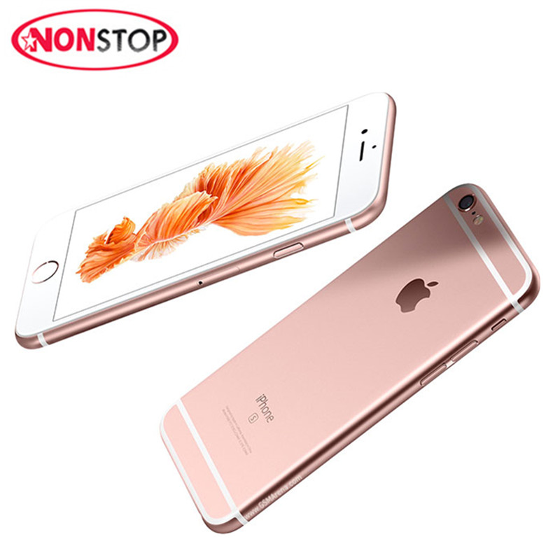 Apple iPhone 6S Original Unlocked Mobile phone 12.0MP 2G RAM 16/64/128G ROM 4G LTE Dual Core WIFI APPLE Cell Phones(China)